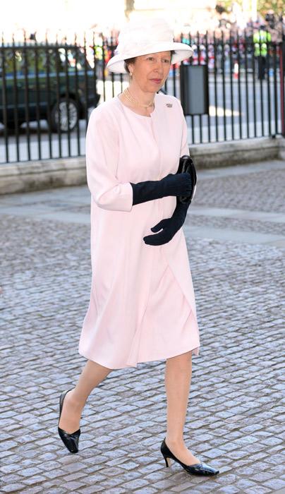 Принцесса Анна, единственная дочь королевы Британии