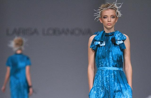Лариса Лобанова на Ukrainian Fashion Week 2012