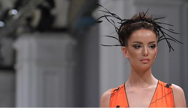 Ukrainian Fashion Week 2012 - коллекция Ларисы Лобановой
