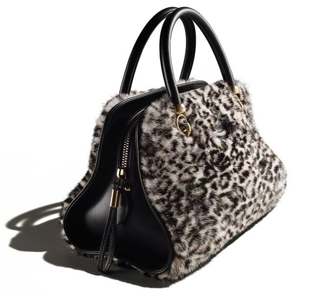 Уникальная сумка Tod's Sella Bag с меховой отделкой — единственный экземпляр для Fashion's Night Out