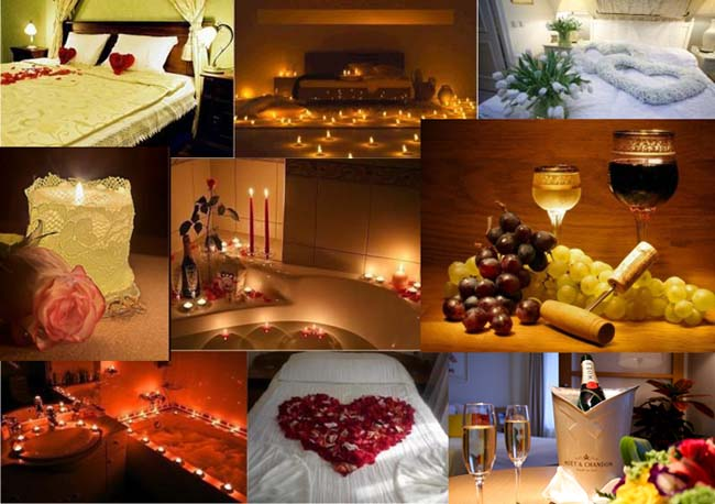 День Святого Валентина в гостинице