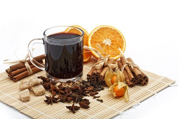 День Святого Валентина чай с корицей
