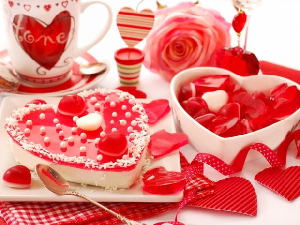 Домашнее празднование дня Святого Валентина