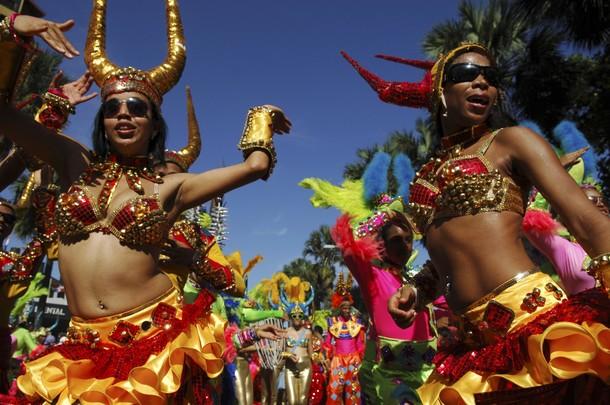 Доминика танцы