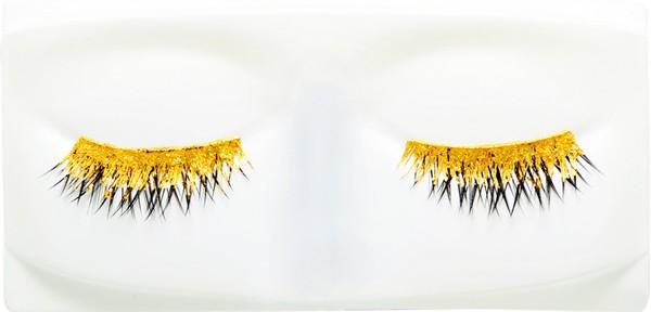 накладные ресницы из золота - новый тренд США