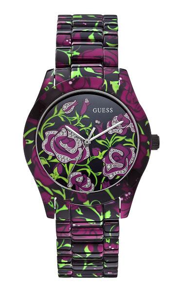 Новинка: наручные часы «Чайная роза» от Guess