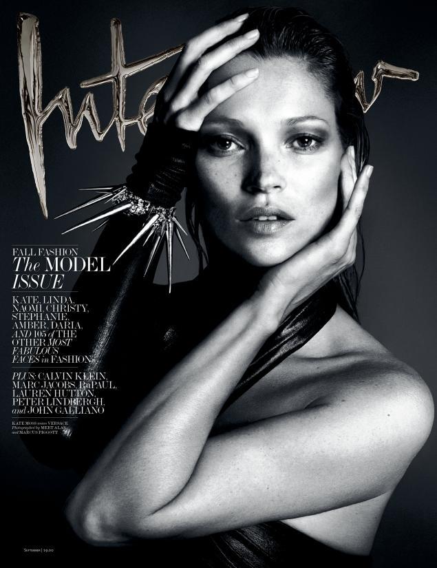 Кейт Мосс (Kate Moss) для Interview Magazine (сентябрь 2013, фото моделей)