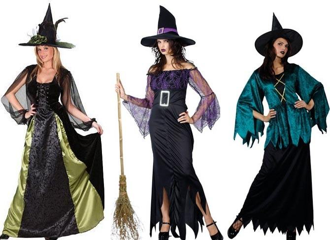 Костюм на Хэллоуин злой колдуньи