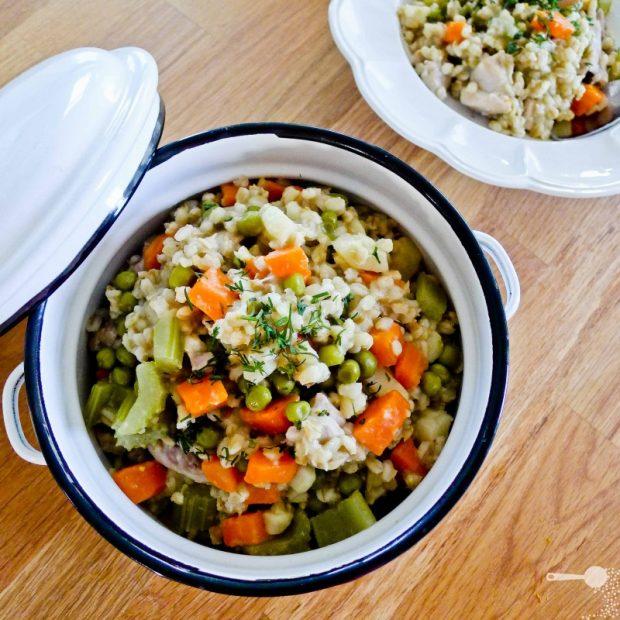 Крупы и овощи
