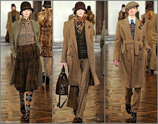 Модная одежда в клетку 2012-2013