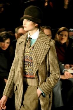 Тенденция моды - под старину