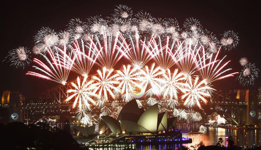 Новый год в городе