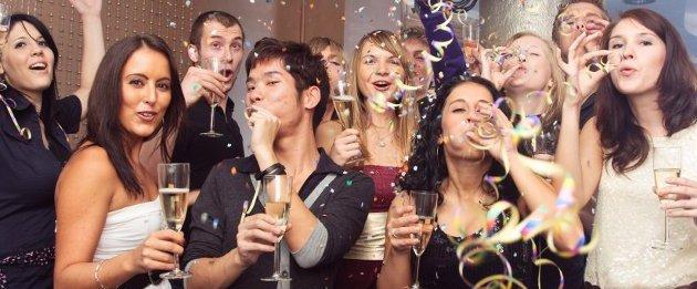 Новый год в клубе или ресторане