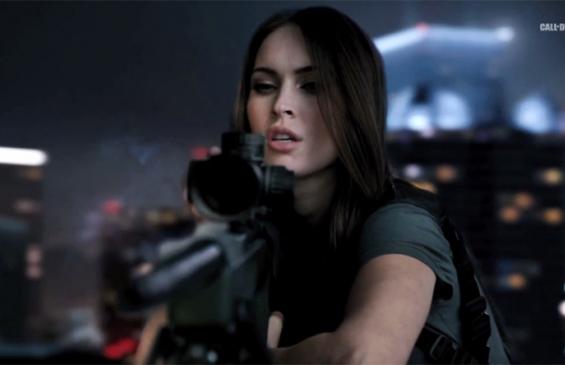 Меган Фокс снялась в рекламе Call of Duty:Ghosts (фото и видео)