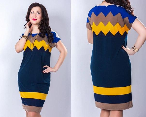 Платье овальной модели
