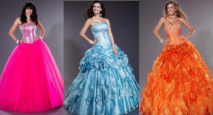 Стильные платья на выпускной 2013