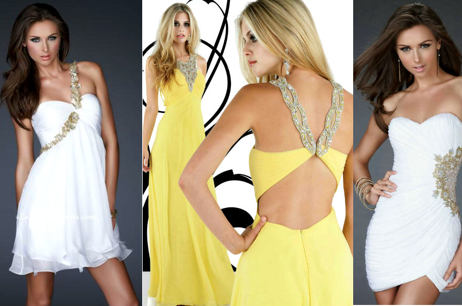 Эпатажные платья на выпускной 2013