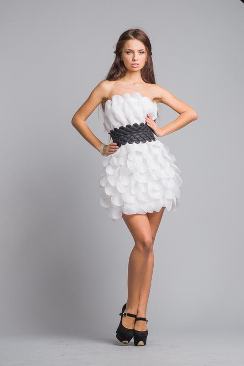 Платья из шифона 2013 фото