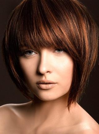 Фото модных стрижек на средние волосы 2013