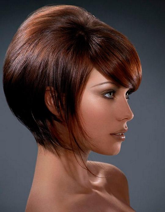Средние волосы - стрижки 2013