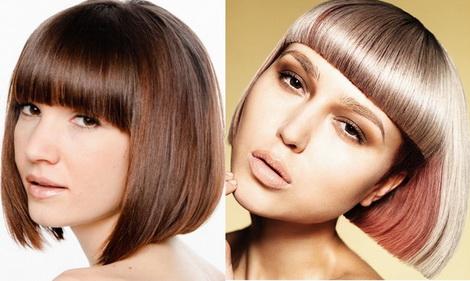 Стрижки на средние волосы 2013 - фото