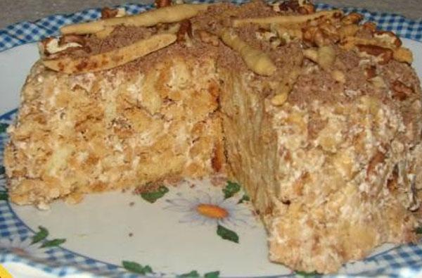 Рецепт торта без выпечки
