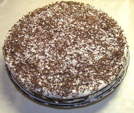Рецепт простого торта