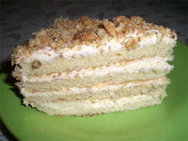"Рецепт торта ""Теща"""