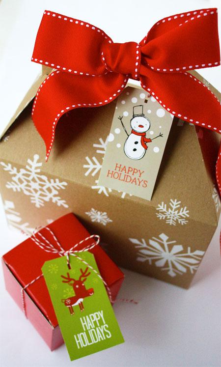 Новогодняя упаковка для подарков своими руками фото