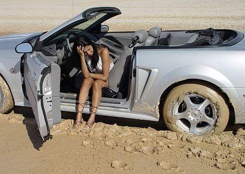 Женщины за рулем - советы