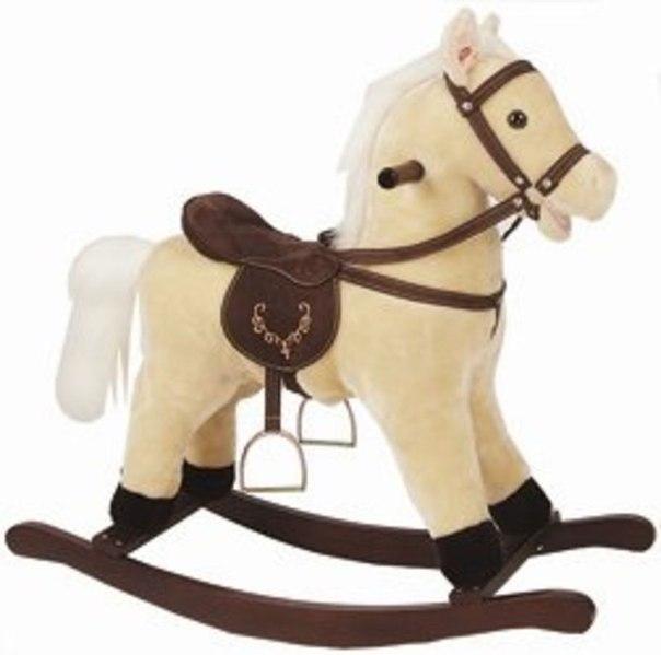 подарки на Новый год: лошадка-качалка для ребенка (фото)