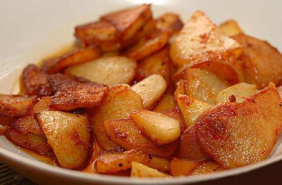 Жареный картофель в мультиварке